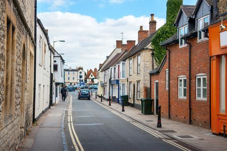 Causeway street. Bicester Village, Oxfordshire, England, UK