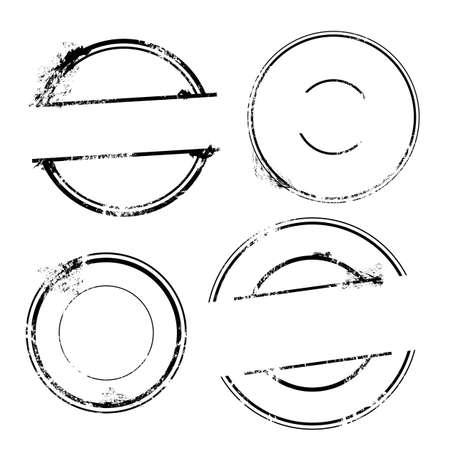 Illustration pour Stamp set - Vector Stamp without text - image libre de droit