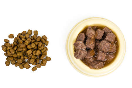 Dog food and cats