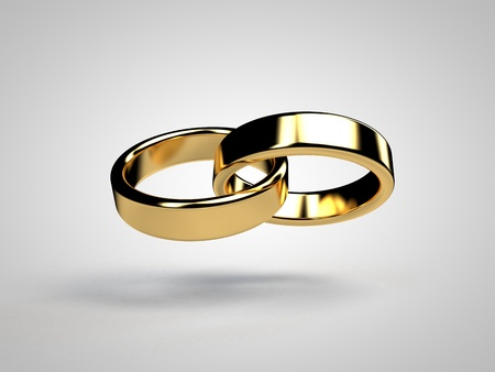 Photo pour Marriage marriage marry ring rings wedding ring wedding rings 3D - image libre de droit