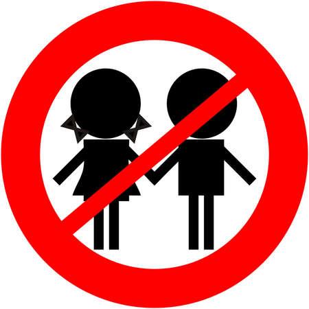 children not allowed