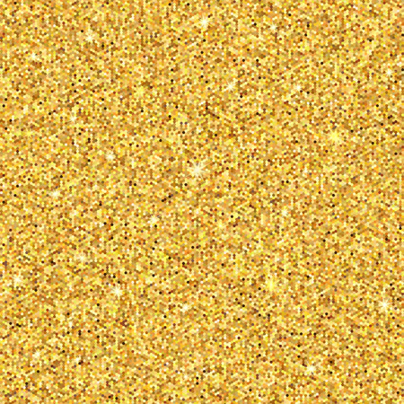 Ilustración de Gold sparkles. Gold glitter background. Gold background for card, vip, exclusive, certificate, gift, luxury. Vector illustration - Imagen libre de derechos