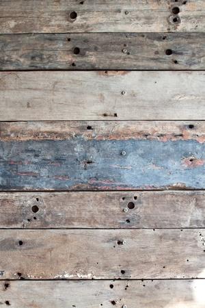 Photo pour Old grunge wood texture interior - image libre de droit