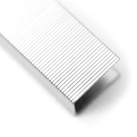paper fastener macro photo - office tacking utensil