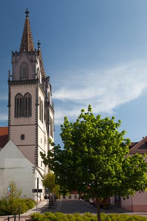 anicent St.Aegidien City Church Oschatz, Saxony, Germany