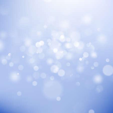 Illustration pour Christmas bokeh lights. Abstract bokeh background. Refocused blurred template. EPS 10 vector file - image libre de droit