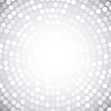 Ilustración de Abstract Circular Gray Background  - Imagen libre de derechos