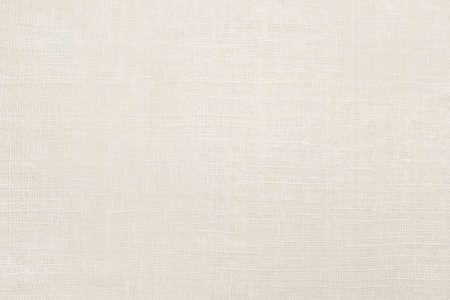 Photo pour White Linen Textile Background. Abstract natural fabric texture - image libre de droit