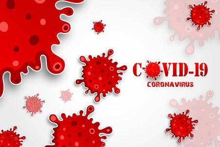 Illustration for Vector illustration of Illustrations concept coronavirus disease COVID-19 - Royalty Free Image