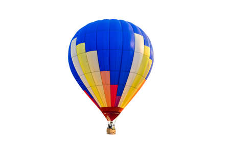 Photo pour hot air balloon isolated on white background - image libre de droit