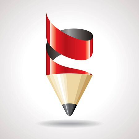 creative red pencil