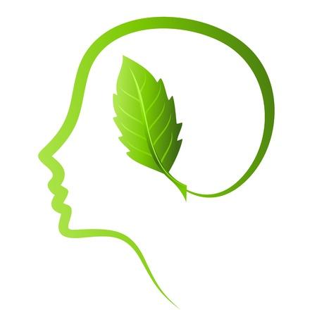 human head, environmental idea