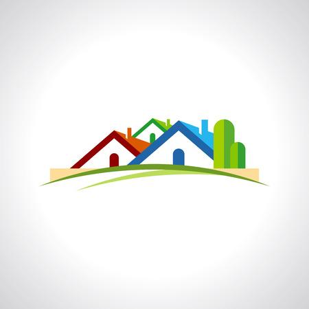 real estate resort icon