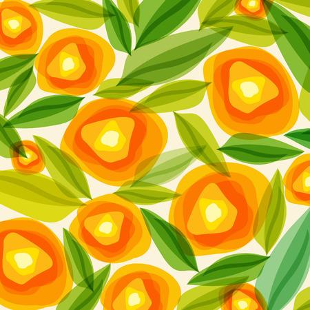 Summer Orange Flowers