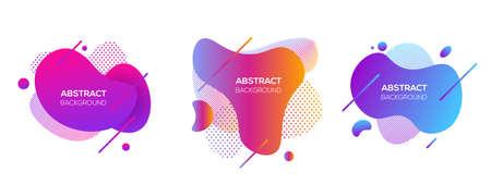 Ilustración de Vector modern futuristic cover elements set - Imagen libre de derechos