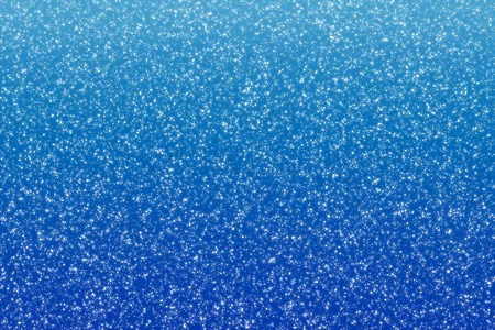Falling snow, Snowflakes on blue winter background