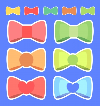 Cute ribbon color