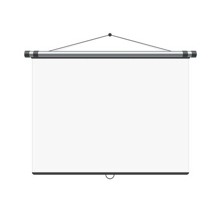 Illustration for Blank white board. - Royalty Free Image