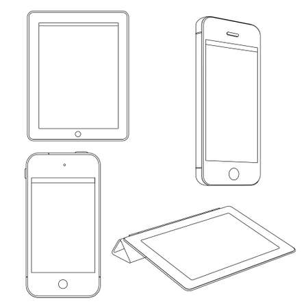 set of Digital devices