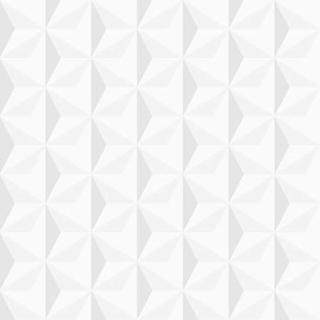 3d white geometric background