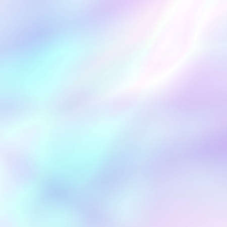 Photo for Abstract soft holographic background in pastel light colors. Trendy wallpaper - hipster style. Vector illustration for modern style trends, for creative project design : web design or printed products - Royalty Free Image
