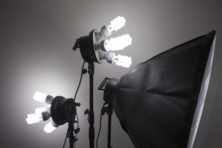 Photography studio equipment lighting
