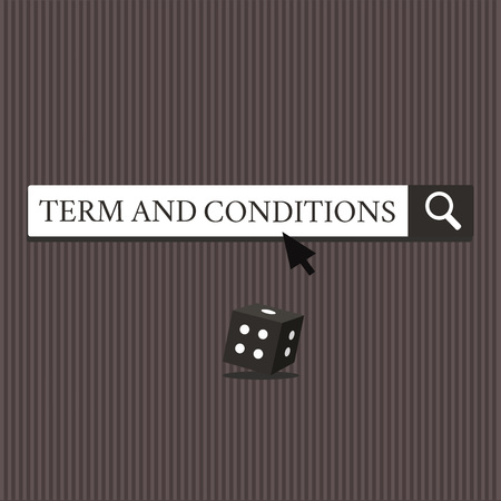 Word writing text Term And Conditions. Business concept for Policies and Rules where one must Agree to Abide.