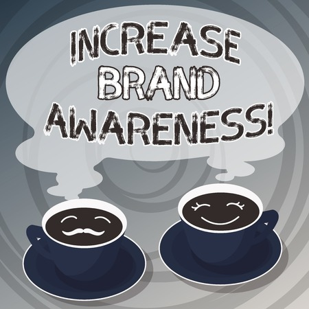 Word writing text Increase Brand Awareness  Business concept