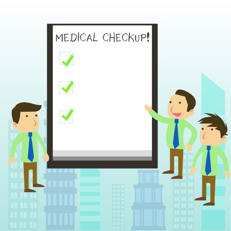 Word writing text Medical Checkup. Business photo showcasing thorough physical examination includes variety of tests
