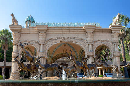 Sun City or Lost City, big entertainment center in South Africa like Las Vegas in North America.