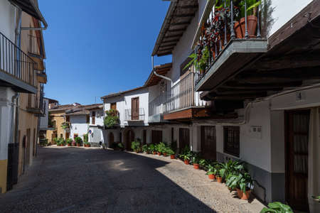 Guadalupe medieval village in Caceres, Extremadura, Spain