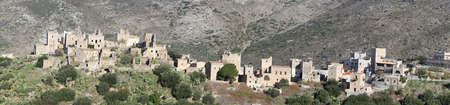 Town of Vakhia in Mani, Greece