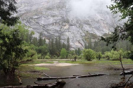 Photo pour Yosemite national park California, in the spring - image libre de droit