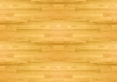 Photo pour Hardwood maple basketball court floor viewed from above. - image libre de droit