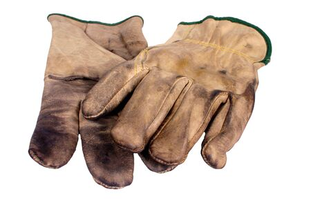 Safety Gloves, Used Multi-Purpose Leather gloves