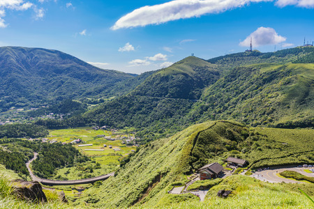 Photo for Rural landscape of Yangmingshan national park in Taiwan - Royalty Free Image