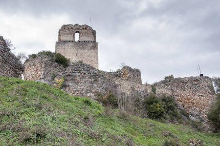 Ocio castle in ruins, Basque Country