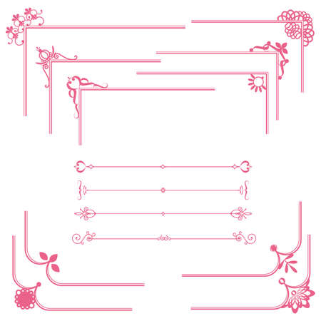 cute frame and line set