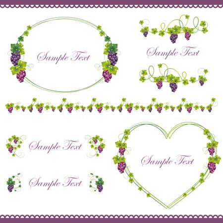 grape frame set