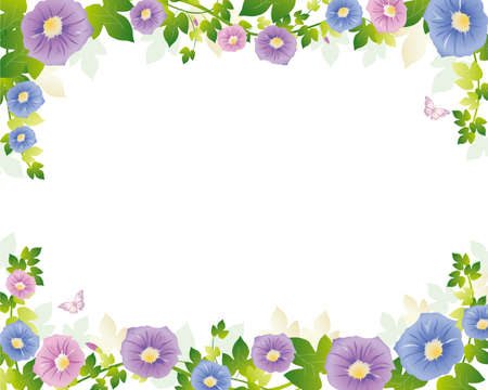 morning glory background