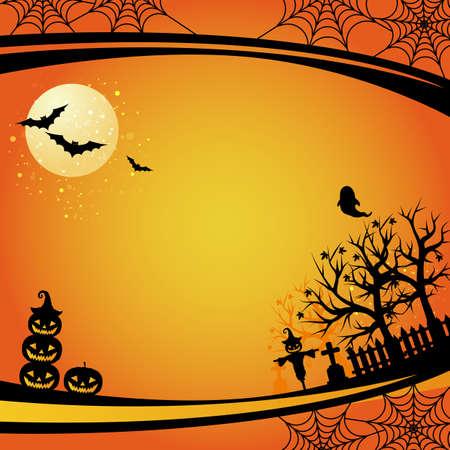 Illustration pour background of Halloween - image libre de droit