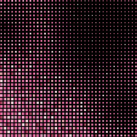 Illustration for Mosaic background of pink glitter - Royalty Free Image