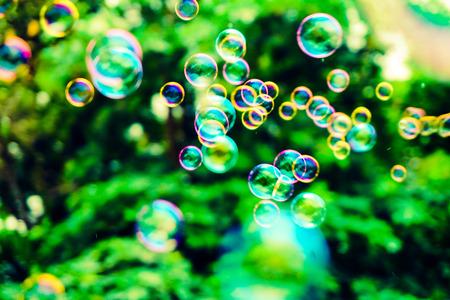 Photo pour Beautiful abstract bubbles texture background and wallpaper - image libre de droit