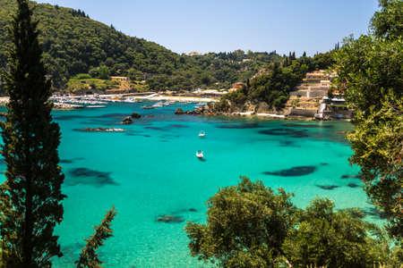 Sea Bay at Corfu