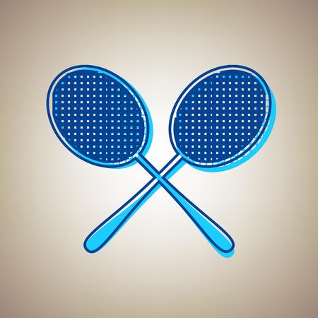 Two tennis racket icon.