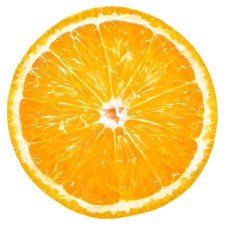 Orange slice isolated