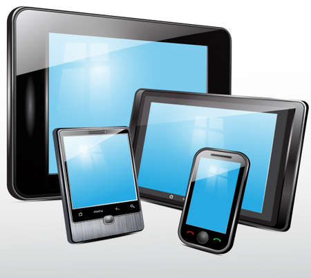 Electronic technics, tablet, mobile phone
