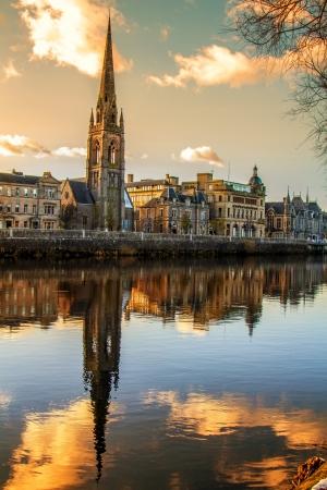 Church Steeple reflection on