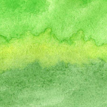 Ilustración de Vector illustration with hand drawn abstract watercolor background - Imagen libre de derechos