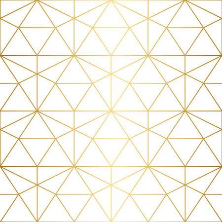 Ilustración de Golden texture.Seamless geometric pattern. Geometric pattern on a white background. - Imagen libre de derechos